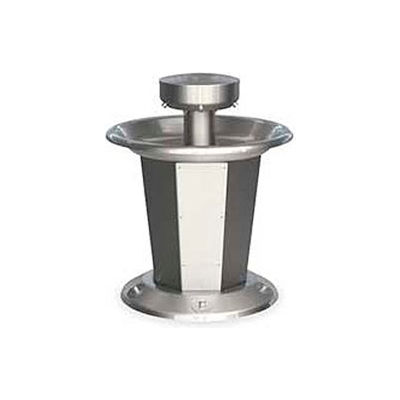 Bradley Corp® Wash Fountain, Circular, Raising Vent, Series SN2005, 5 Person