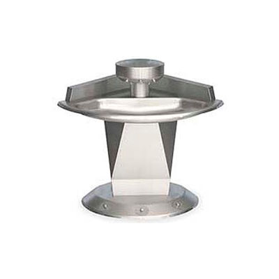 Bradley Corp® Wash Fountain, Corner, Raising Vent, Series SN2013, 3 Person