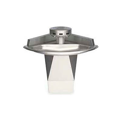 Bradley Corp® Wash Fountain, 110/24 VAC, Corner, Series SN2013, 3 Person