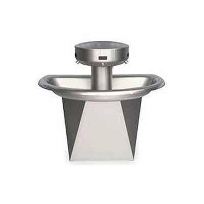 Bradley Wash Fountain, Semi-Circular,110/24 VAC, Series SN202, 3 Person