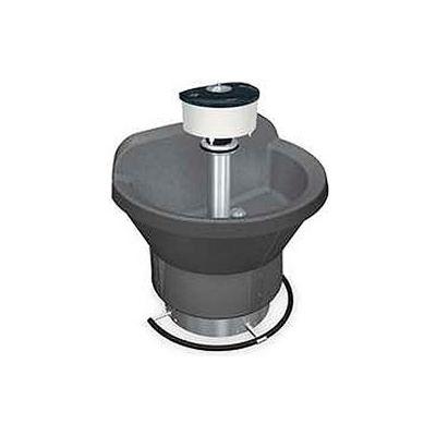Bradley Wash Fountain, Semi Circular, 54 In Wide, Series WF2804, 4 Person