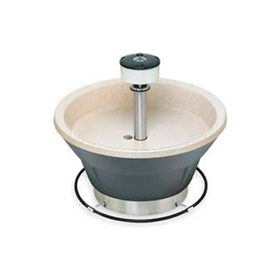 Bradley Corp® Wash Fountain, 36 In Wide, Circular, Series WF2805, 5 Person Sink
