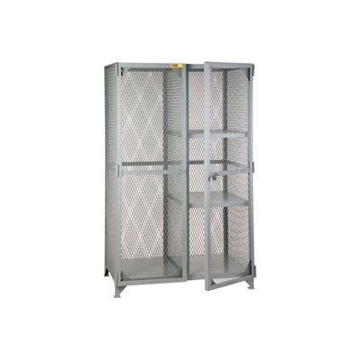 Little Giant®  Combination Cabinet Locker with 2 Half Shelves, 24 x 48