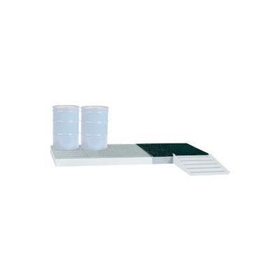 Little Giant® Low-Profile Spill Control Platform SSB-5151 4-Drum 66 Gallon