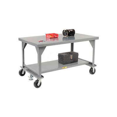 """Little Giant® Mobile Heavy Duty, 7 Gauge, Steel Workbench - 48""""W x 30""""D x 34""""H"""