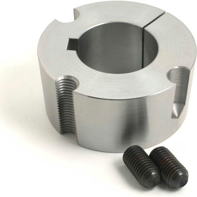 "Tritan 1215 X 1/2, 1/2"" x 1.9"" 1215 Series Tapered Locking Steel Bushing, 1/2"" Bore"