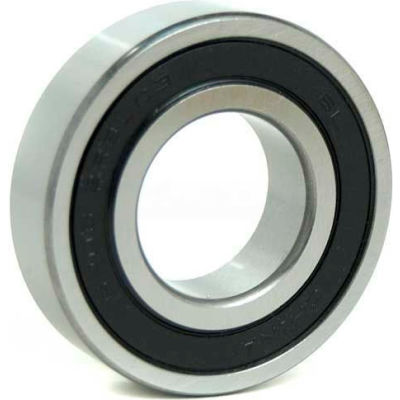 """BL Deep Groove Ball Bearings (Inch) 1606-2RS, Sealed, Light Duty, 0.375"""" Bore, 0.9062"""" OD"""