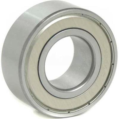 BL Double Row Angular Contact Bearings 5204-ZZ, 2 Metal Shields, Medium Duty, 20mm Bore, 47mm OD