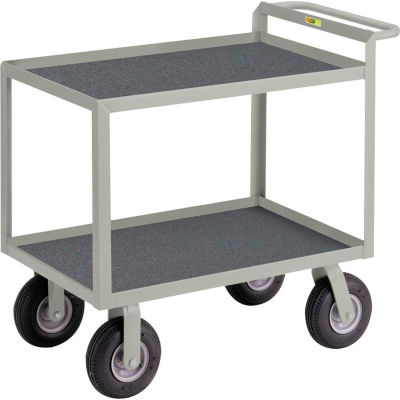 """Little Giant® Instrument Cart with Hand Guard and Non-Slip Vinyl Mat 24"""" x 36"""""""
