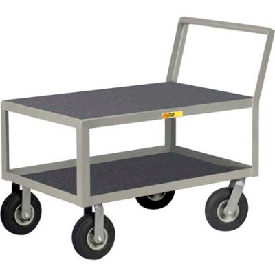 Little Giant® Low Deck Instrument Cart, Flush Top, 24 x 36