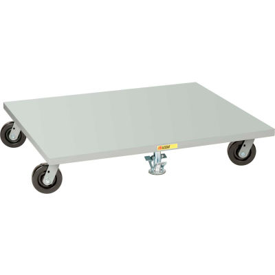 """Little Giant® Pallet Dolly PDS4848-6PH2FL - Solid Deck - 48"""" x 48"""" with 2 Floor Locks"""