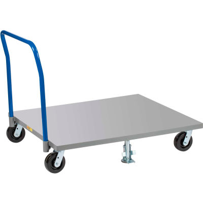 Little Giant® Pallet Dolly PDSH4248-6PH with Pipe Handle - Solid Deck - 42 x 48
