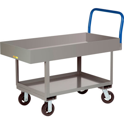 "Little Giant® Work Height Platform Truck RNL2X6-2448-6MR with 6"" Deep Deck 24 x 48 Fixed Height"