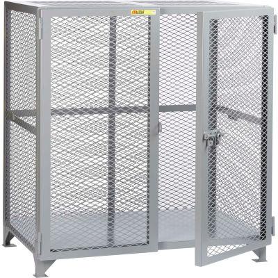 "Little Giant® Welded Storage Locker, Mesh Sides, 61""W x 27""D x 52""H"