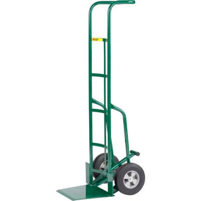 "Little Giant® 60"" Tall Hand Truck with Foot Kick TF-370-8S - 8"" Solid Rubber"