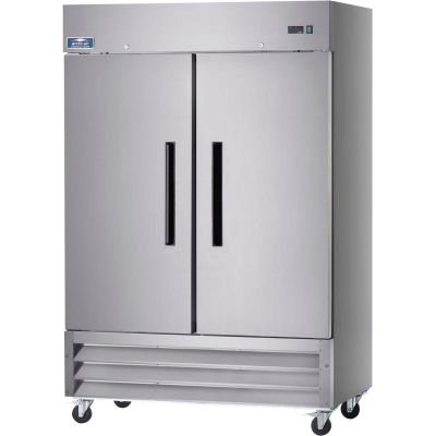 Arctic Air AR49 Reach In Refrigerator 49 Cu. Ft. Stainless Steel
