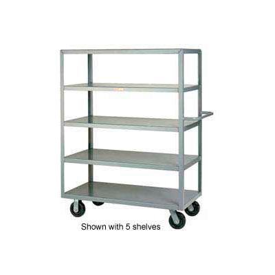Little Giant® Multi-Shelf Truck 4M-2448-6PH, 4 Flush Shelves, 24 x 48