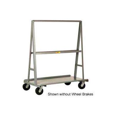 """Little Giant® """"A"""" Frame Sheet & Panel Truck AF3048-BK, 30 x 48 with Brake Wheels"""