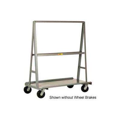 """Little Giant® """"A"""" Frame Sheet & Panel Truck AF3060-BK, 30 x 60 with Brake Wheels"""