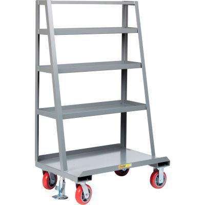 "Little Giant® ""A"" Frame Sheet & Panel Truck w/Back Shelf Storage, 24x60, 2000 lb Capacity"