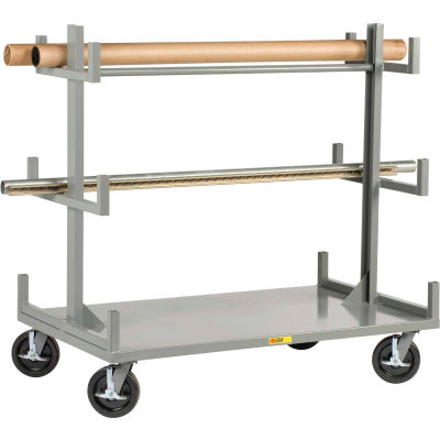 Little Giant® Portable Bar & Pipe Truck BRT-3660-8PHBK, 36 x 60
