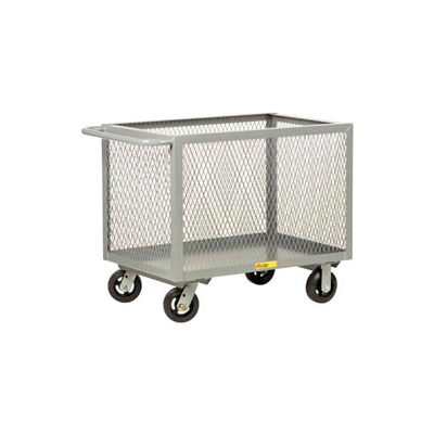 Little Giant® Box Truck BTX2448-6MR, Expanded Metal Sides, 24 x 48