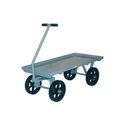 Little Giant® Wagon Truck CH-3048-12MR - Lip Deck - 30 x 48 - Mold-on Rubber Wheels
