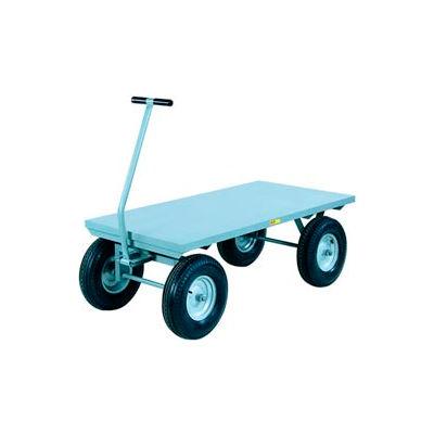 Little Giant® Wagon Truck CH-3672-16PFSD - Flush Deck - 36 x 72 - Pneumatic Wheels - 3000 Lb.