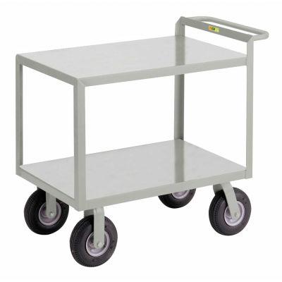 Little Giant® Instrument Cart w/Hand Guard, Flush Shelves, 24 x 48