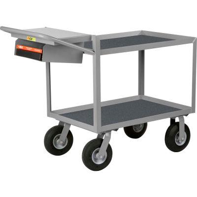 Little Giant® Instrument Cart Writing Shelf Non-Skid Vinyl 24x48