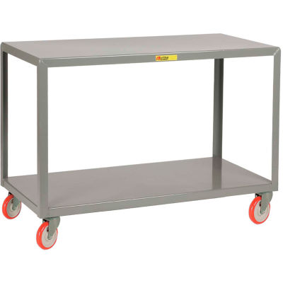 Little Giant® Mobile Table IP-2460-2, 2 Shelf, 24 x 60