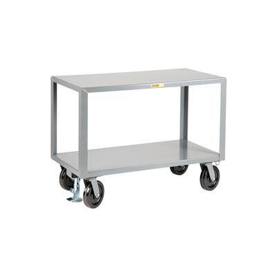 Little Giant® Heavy Duty Mobile Table IPG3060-8PHFLPL, 30 x 60, Floor Lock