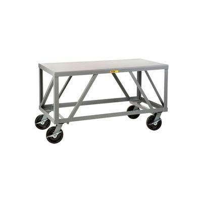Little Giant® Extra Heavy-Duty 7 Gauge Mobile Table IPH-3660-8PHBK, 36 x 60