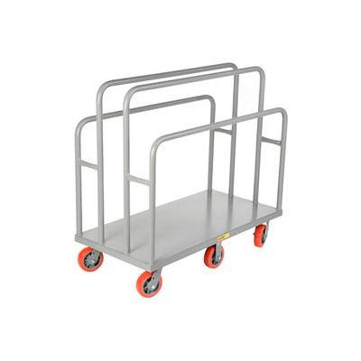 Little Giant® Lumber & Panel Cart LC-2448-6PY, 24 x 48, Polyurethane Wheels