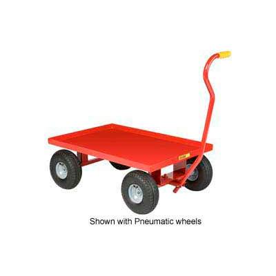 Little Giant® Nursery Wagon Truck LW-2436-8S - Steel Deck - 8 x 2.50 Rubber Wheel