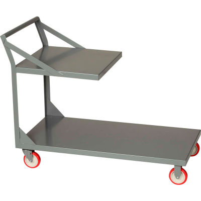 "Little Giant® Platform Truck with Top Shelf - 30""W x 60""L - 1200 Lb. Capacity"