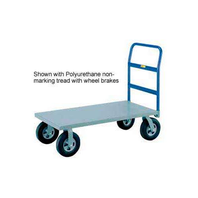 Little Giant® Heavy Duty Platform Truck NBB-3060-8MR - 30 x 60 - MORT Wheels - 2400 Lb.