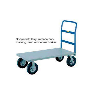 Little Giant® Heavy Duty Platform Truck NBB-3072-8MR - 30 x 72 - MORT Wheels - 2400 Lb.