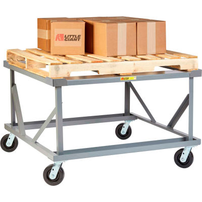 Little Giant® Fixed Height Pallet Stand PDF-4248-6PH-LR - 42 x 48 Open Deck with Load Retainers