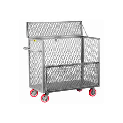 Little Giant® Security Box Truck SB-2448-6PY, 24 x 48