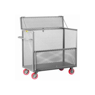 Little Giant® Security Box Truck SB-3048-6PY, 30 x 48