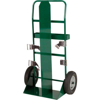 Little Giant® Welding Cylinder Partition Wall Truck TW-90-16P Pneumatic Wheels