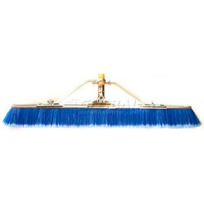 "Bruske 35"" Floor Brush w/Brace & Handle 2138-CW-X, Blue"