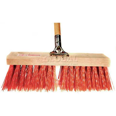 "Bruske 16"" Street Sweep W/Handle 3786-Cw-3 - Pkg Qty 3"