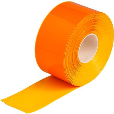 "Brady® 149643 ToughStripe® Max Floor Marking Tape, Vinyl, 4""W x 100'L, Yellow"