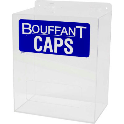 "Brady® PD524E Bouffant Cap Dispenser, Acrylic, 12""W x 14""H"