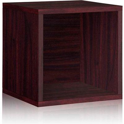 Way Basics Stackable Large Storage Cube, Espresso