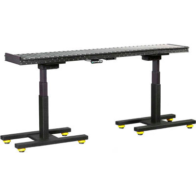 """Built Systems Electric Height Adjustable Conveyor 46816 5'L x 18""""W - 200 Lb. Capacity"""