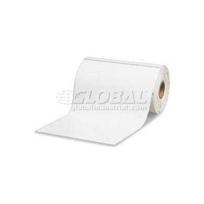 """Zebra Z-Select 4000T Removable Paper Labels 4""""W x 6""""L, 1"""" Core, Case of 6"""