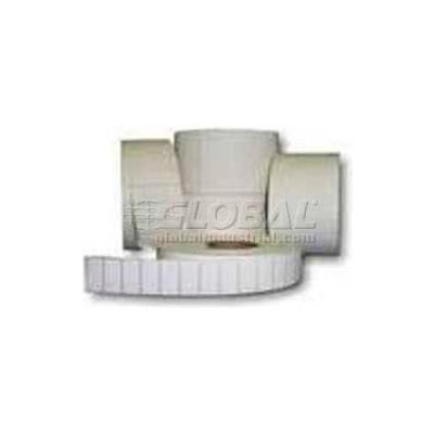 """Zebra 10010041 Z-Select 4000D Paper Labels 2-1/4""""W x 2-1/2""""L, Perforated, Case of 4"""